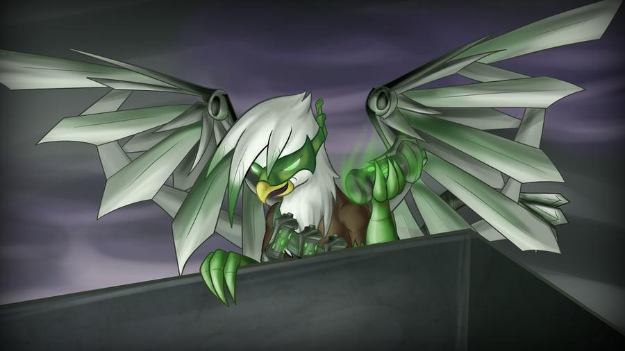 Green Gryphon by Zedrin