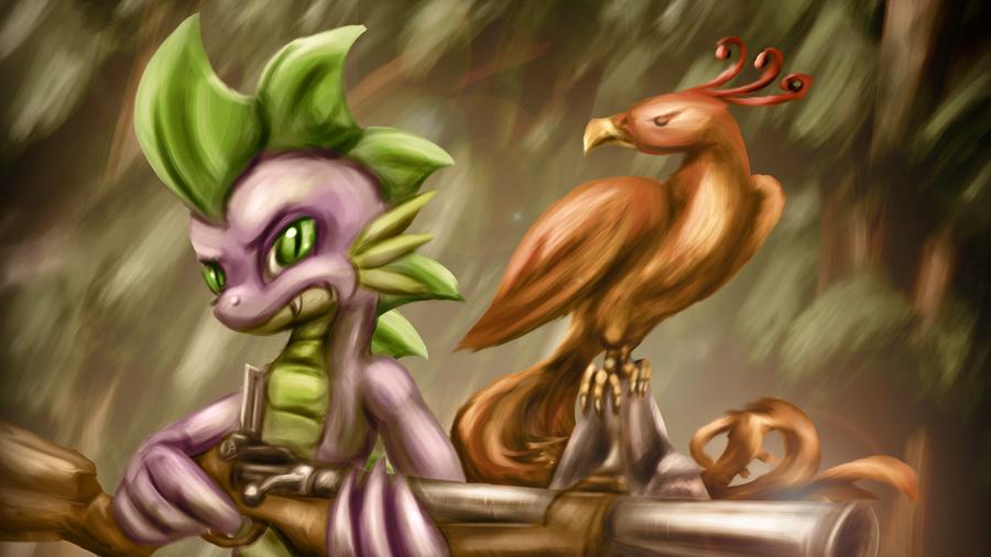 Hunter Spike by Zedrin