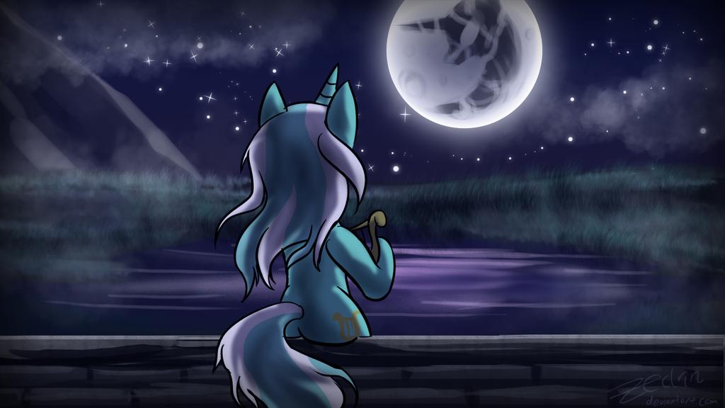 Lunar Serenade by Zedrin