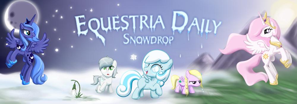 Snowdrop Banner by Zedrin
