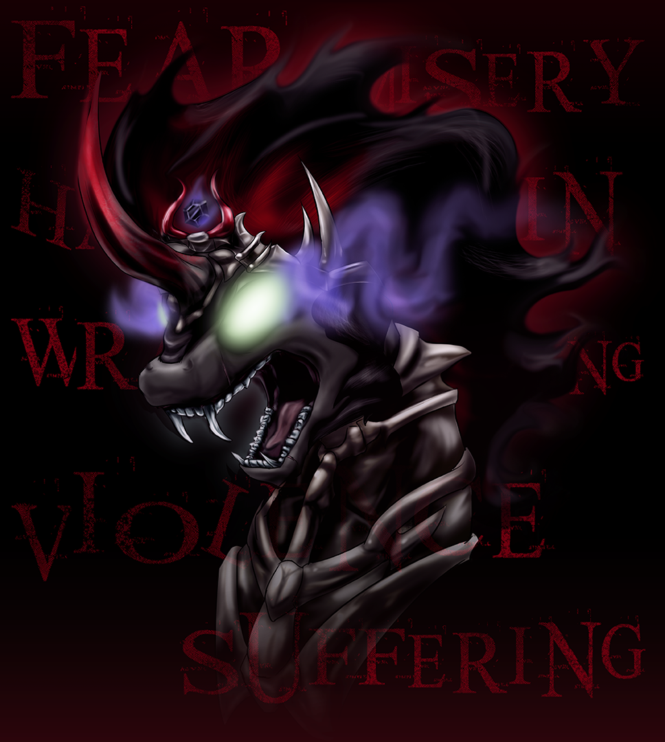 Fear and Wrath - the Shadow King (Shirt) by Zedrin