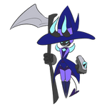 Character Design - Robot Black Mage Imp