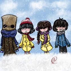 Happy snow day- little nightmares