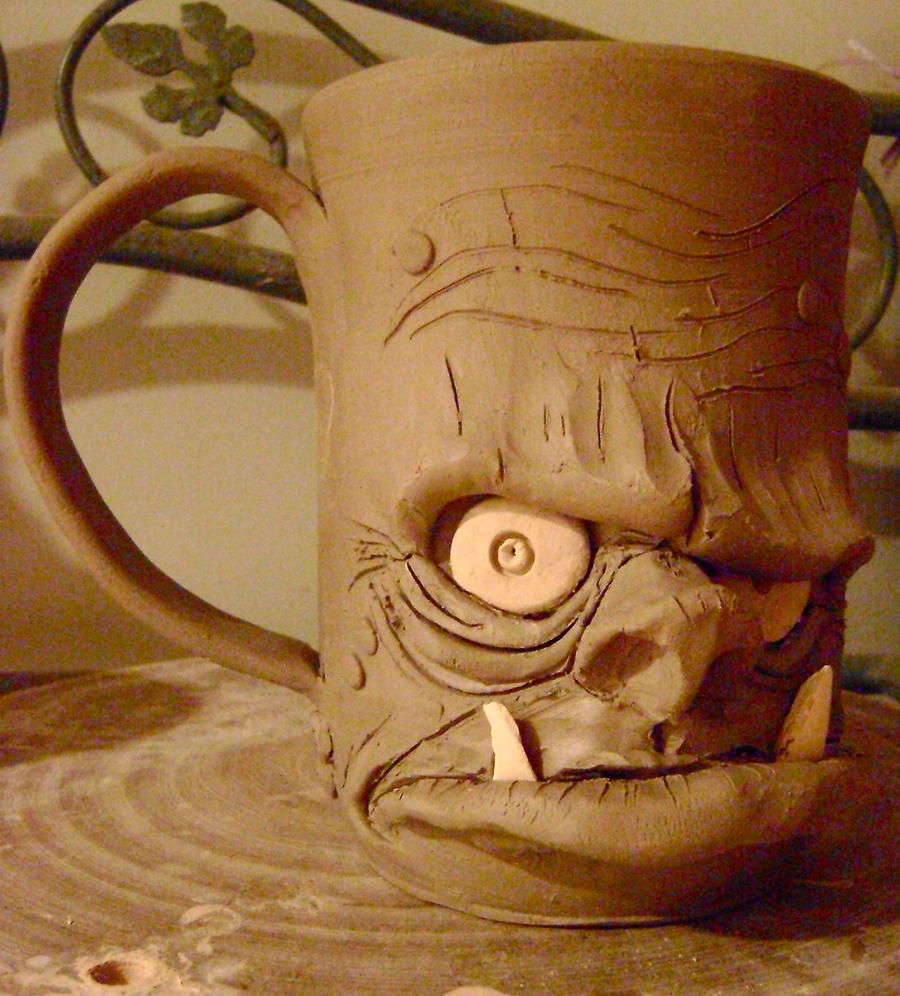 ogre beer mug- unfinished by thebigduluth
