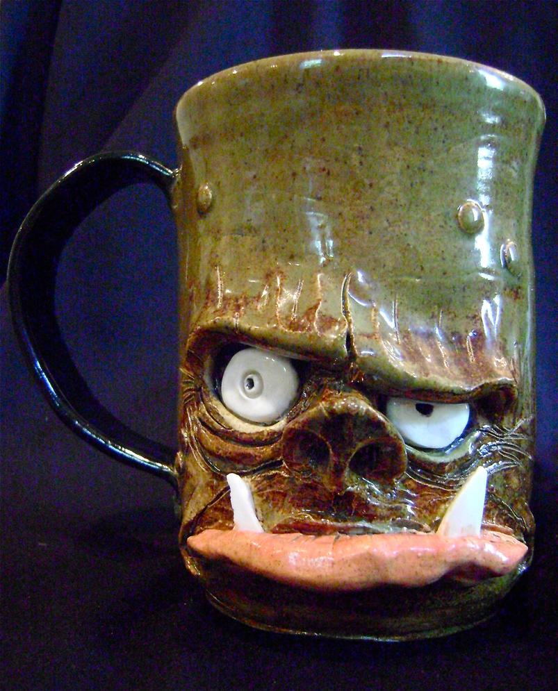 ogre beer mug- complete 2 by thebigduluth