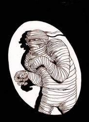 The Mummy- Caught by thebigduluth