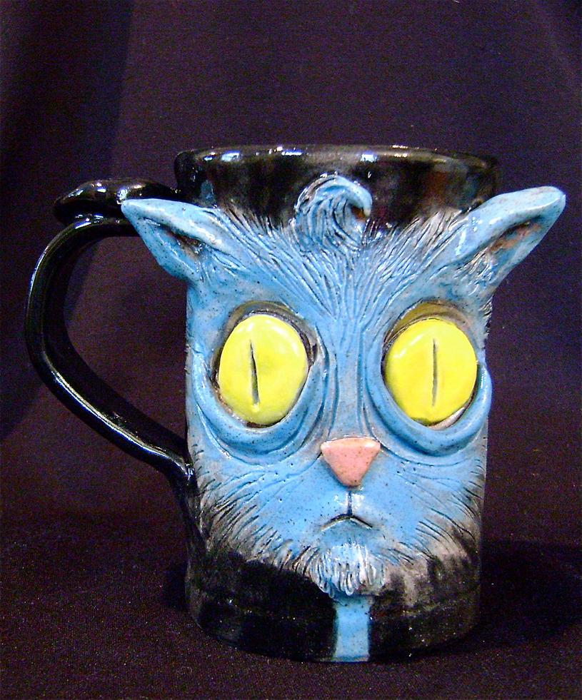 Kitty Mug by thebigduluth