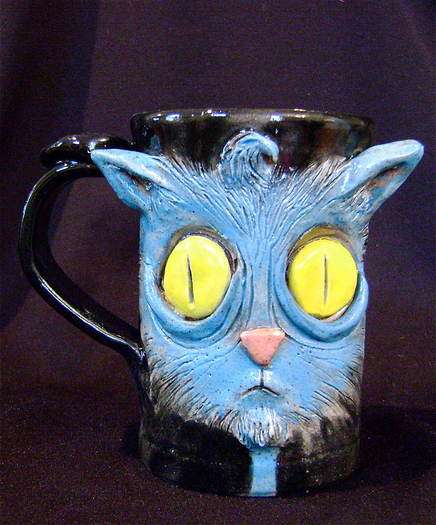 Kitty Mug by thebigduluth