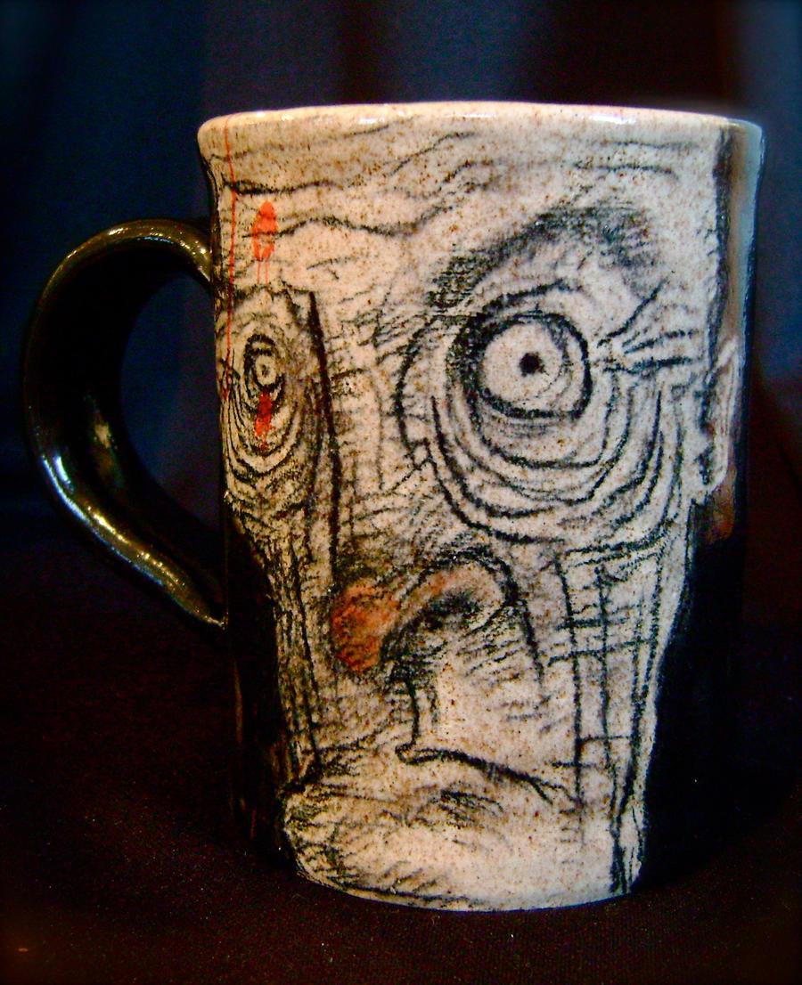 Sketchy Mug by thebigduluth