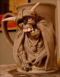 Litch King Beer Mug- WIP