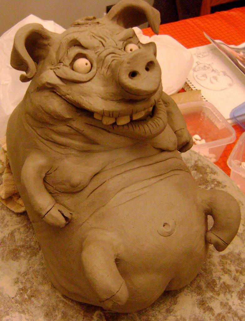 Piggy Jug- WIP by thebigduluth