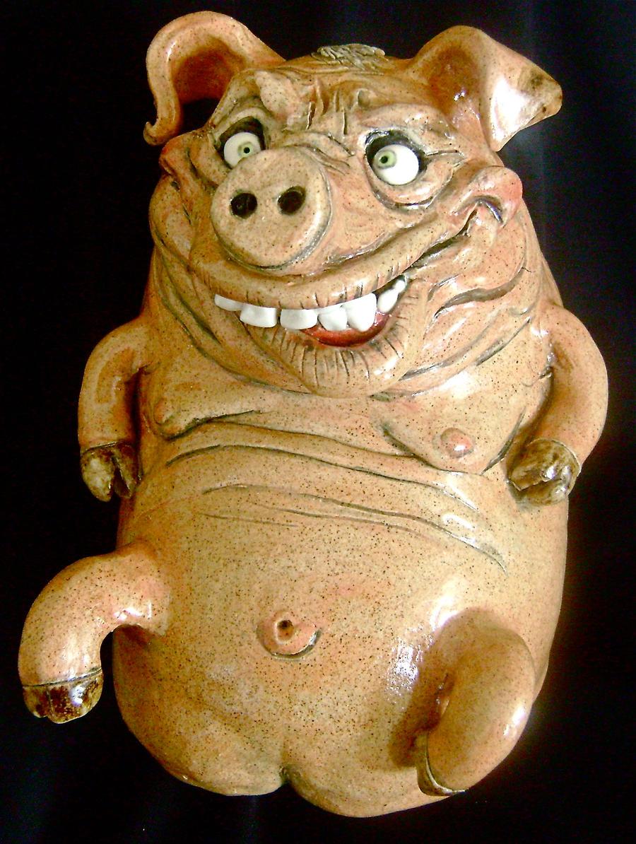 Piggy Jug- Complete by thebigduluth