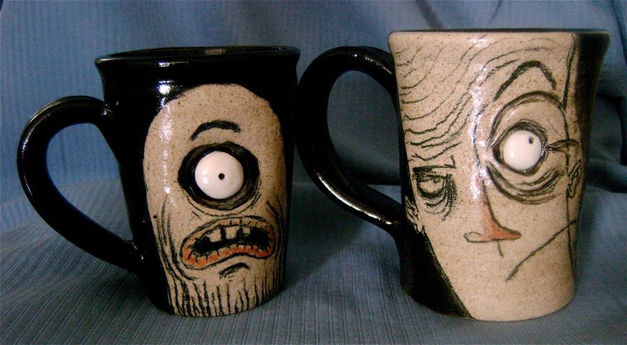 Dynamic Duo Mugs by thebigduluth