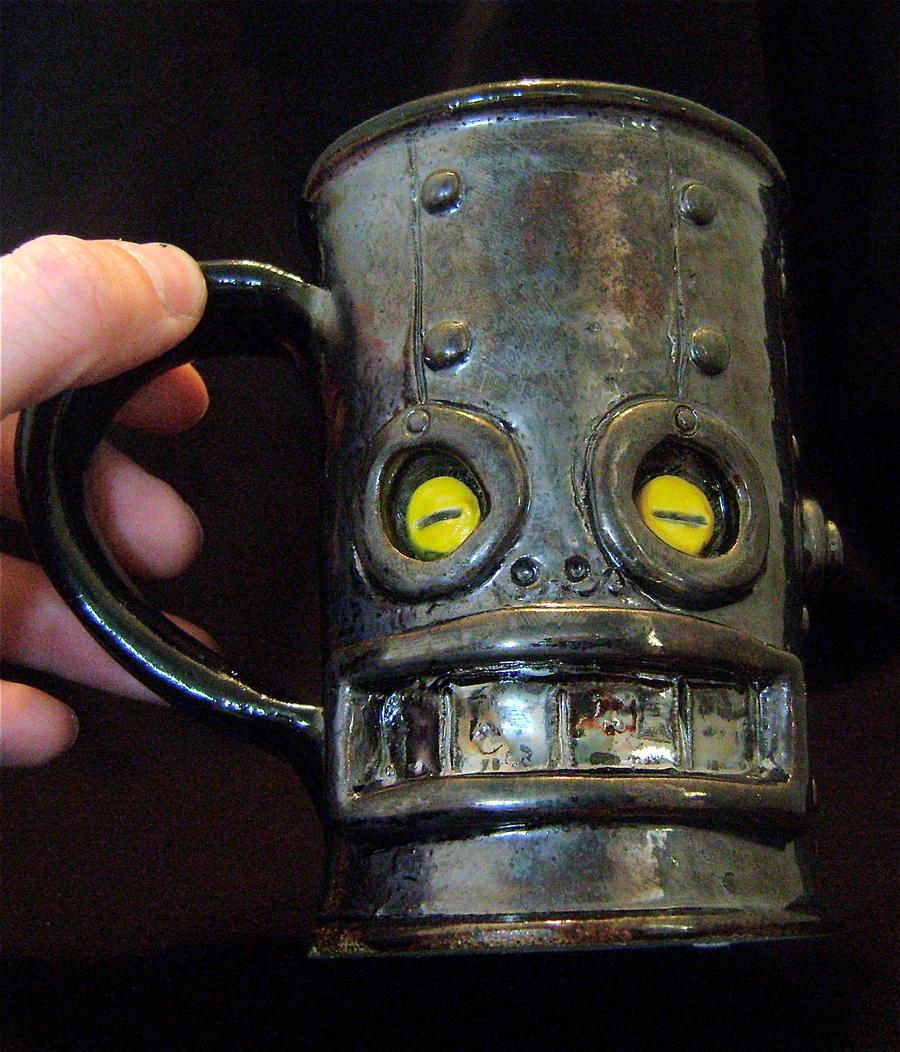 Robot Mug 2.0 - complete by thebigduluth