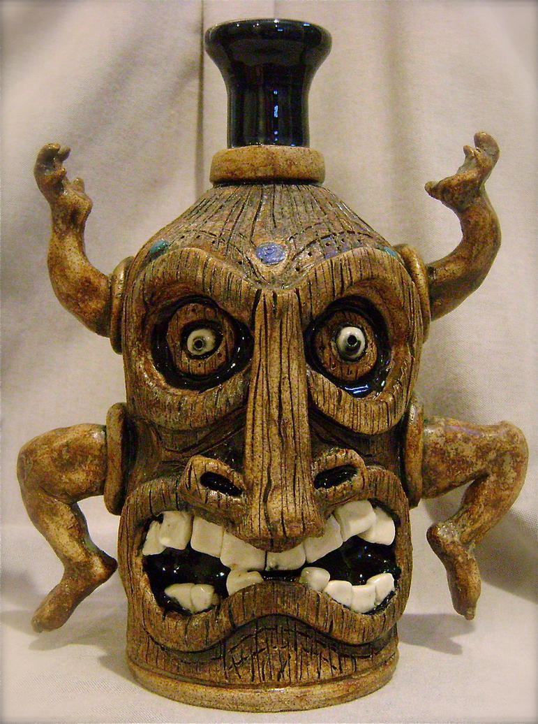 Dancing Tiki Jug- for SALE by thebigduluth