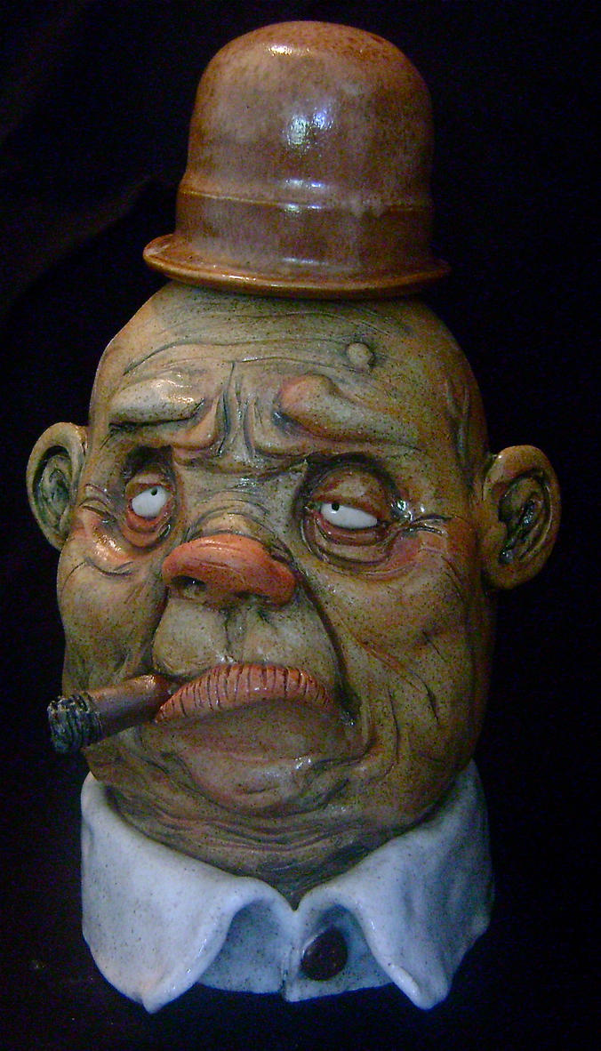 The Cigar Man Jug by thebigduluth