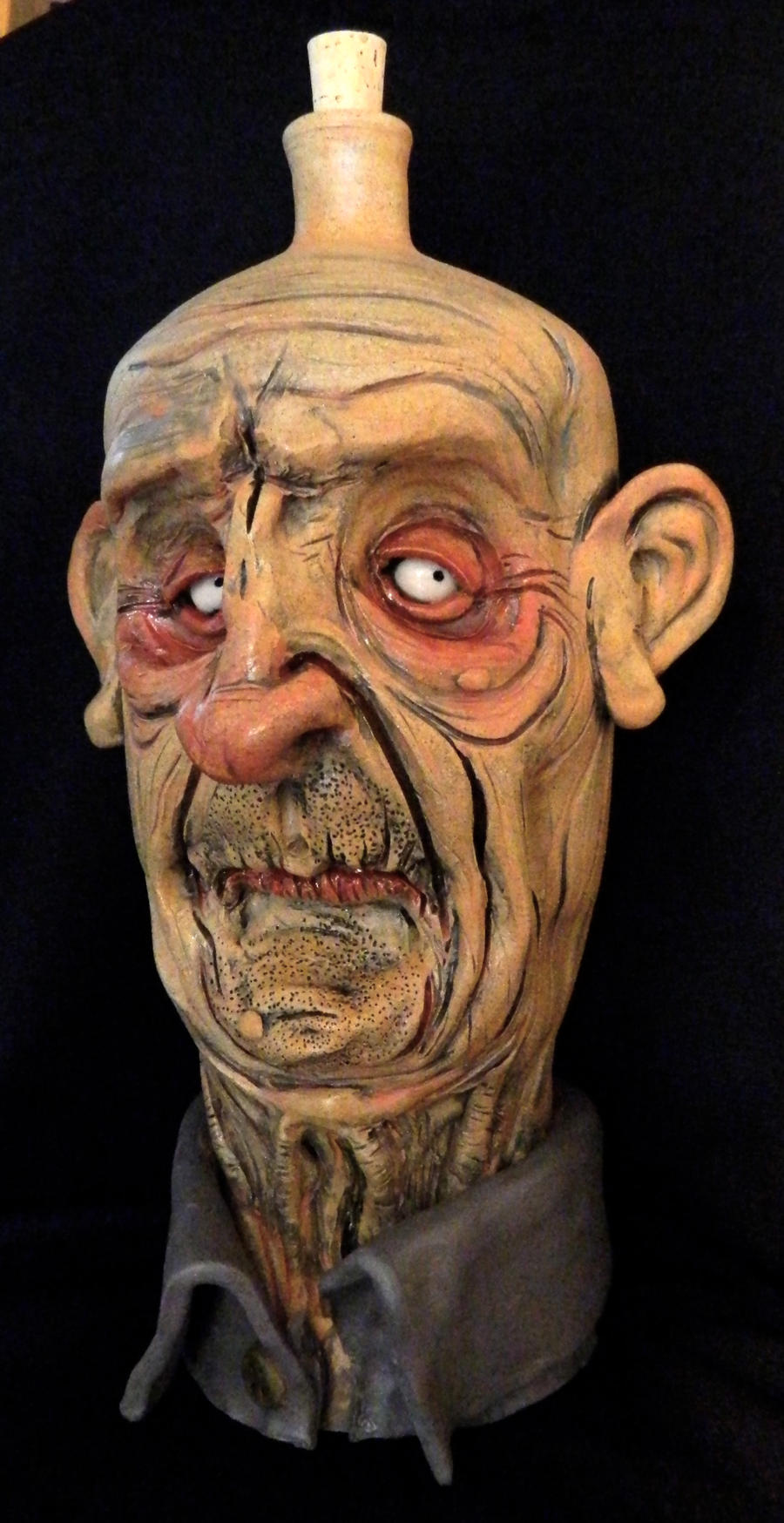 Zombie Bill Jug by thebigduluth