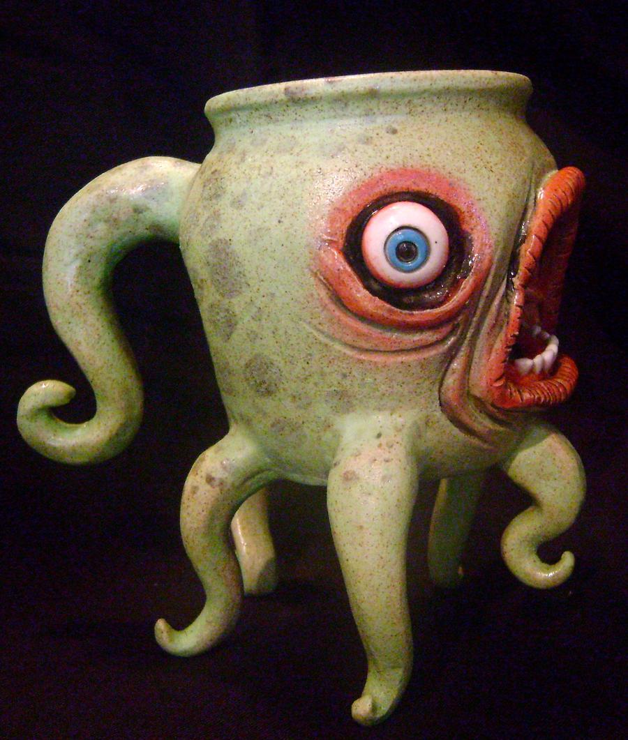 Intergalactic faux pas mug by thebigduluth
