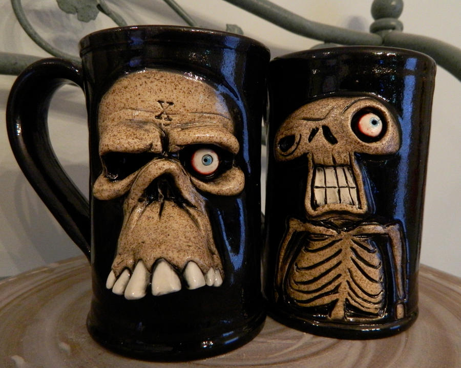 Mugs of the Dead by thebigduluth