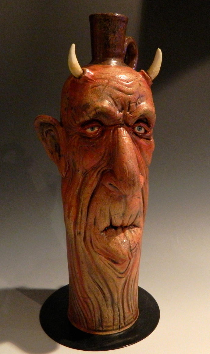 Elderly Devil Jug- FOR SALE by thebigduluth