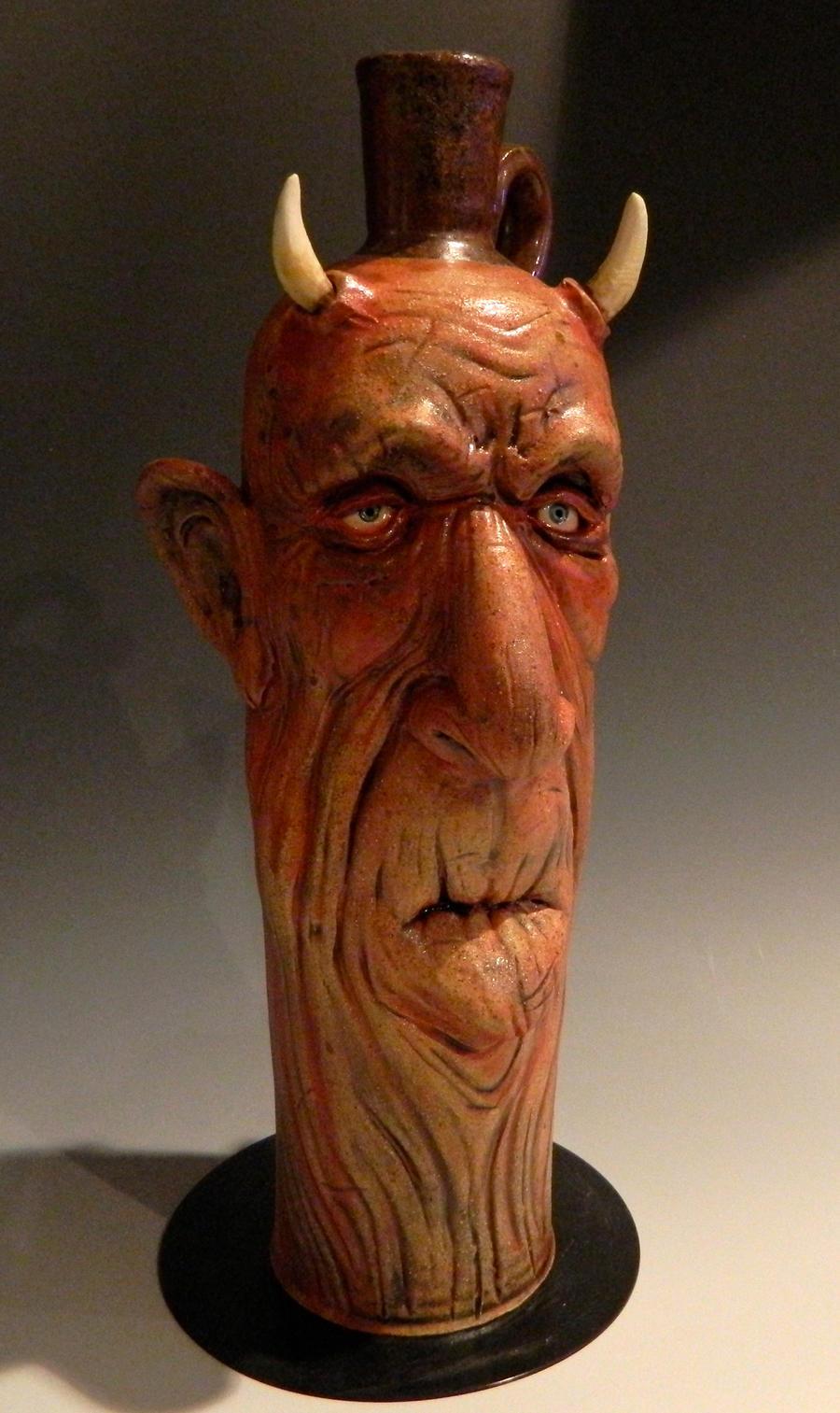 Elderly Devil Jug- FOR SALE by thebigduluth