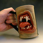 The Morning Beast Coffee Mug- FOR SALE