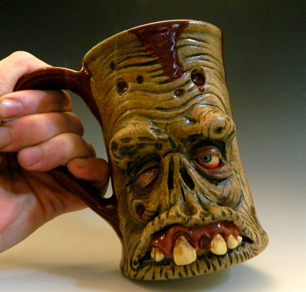 Rotting Zombie Mug- For Sale by thebigduluth
