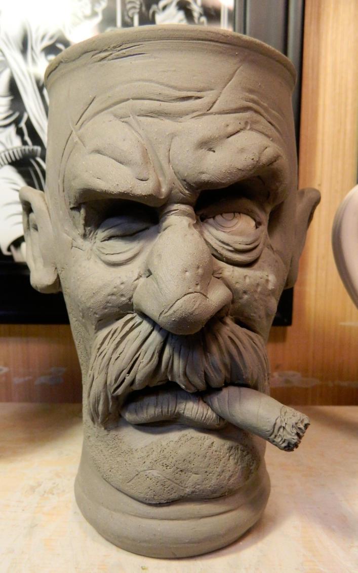 Old One Eye Pilsner Mug Wip By Thebigduluth On Deviantart