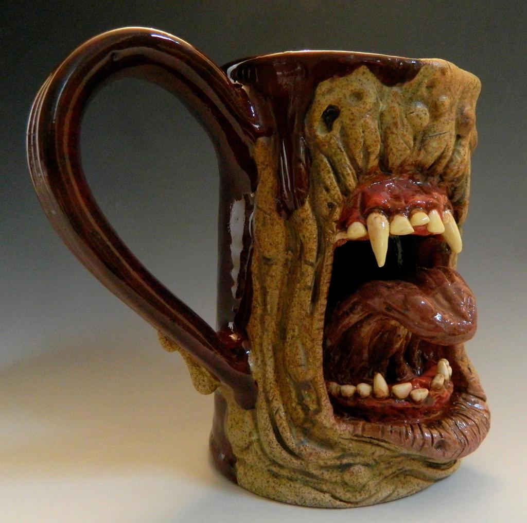 D Face Coffee Mugs