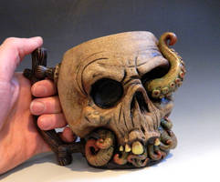 Home Sweet Home Skull Mug -FOR SALE by thebigduluth
