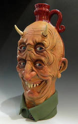 Four-Eyed Devil Jug- Complete by thebigduluth