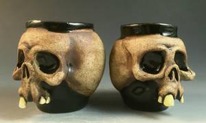Skull shot glass couples- FOR SALE on Ebay