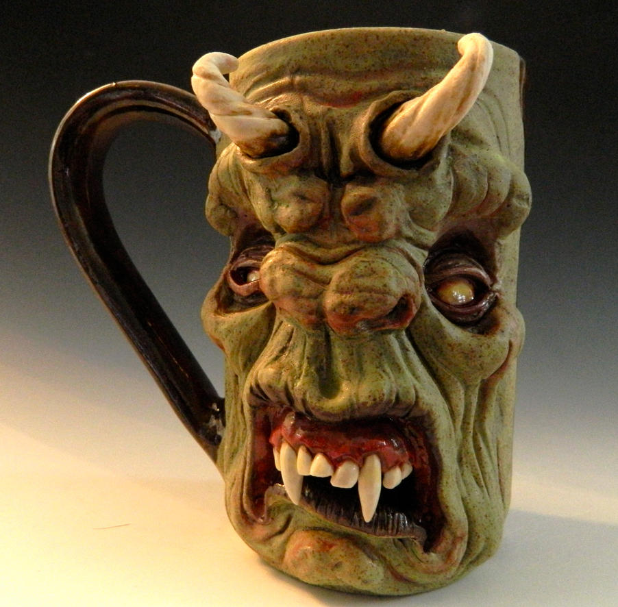 The Morning Beast Mug- FOR SALE on Ebay by thebigduluth