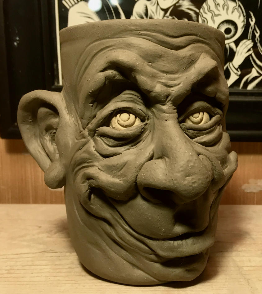 One Happy Mug- WIP by thebigduluth