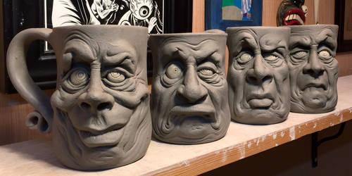 New Mugs on the shelf