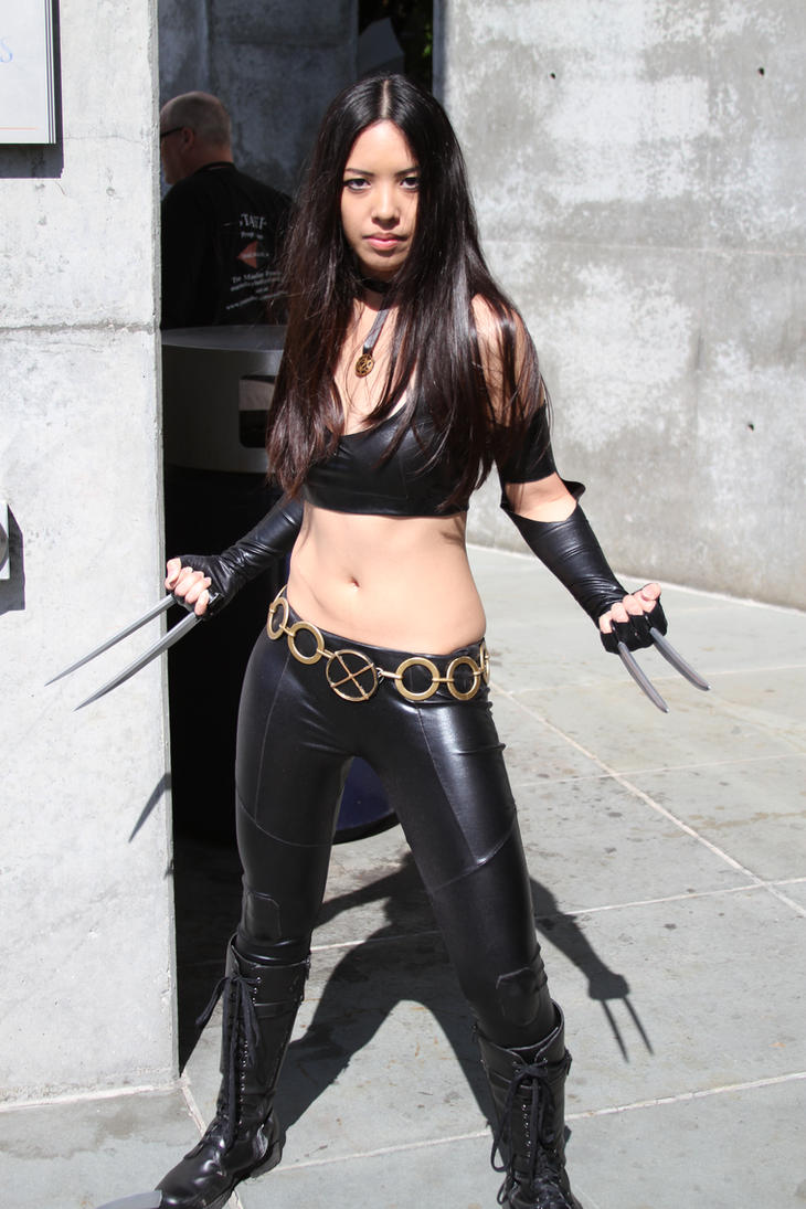 X-23 by PostDramatic on DeviantArt X 23 Cosplay Wallpaper