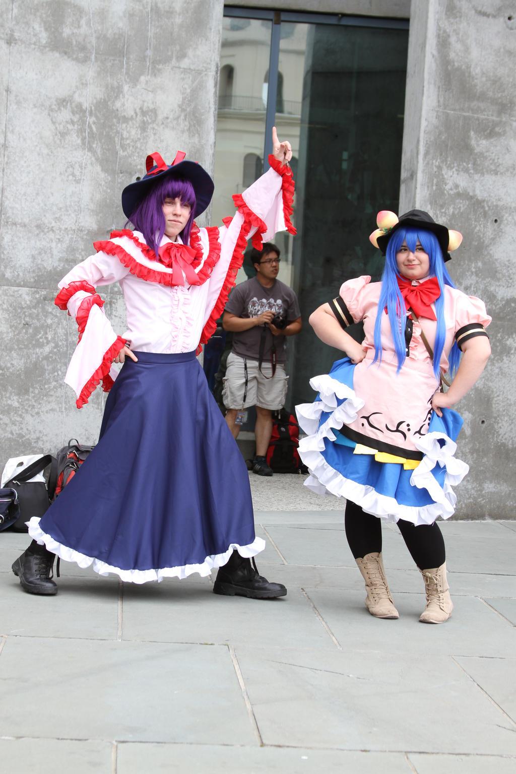 Touhou cosplay bitoni kawashima