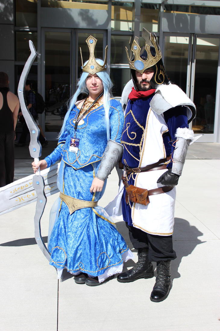 Queen Ashe and King Tr...