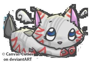 Ruu : k1tt3ny by Canvas-Cutie