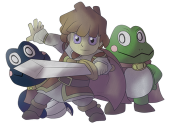 SSB4 Newcomer? Prince of Sable by Weyard