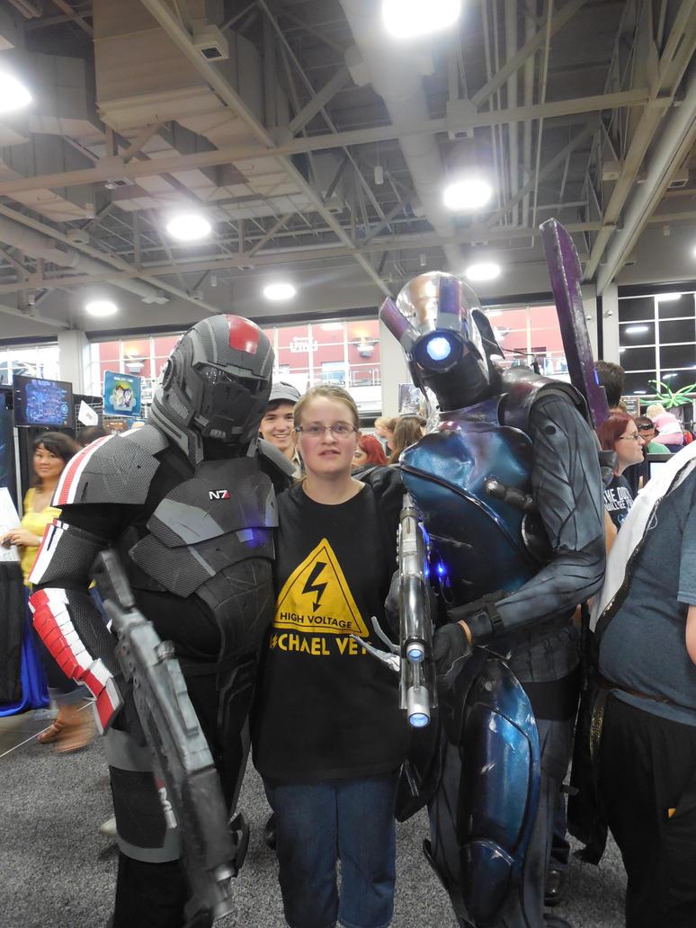 BroShep and Legion at Salt Lake Comic Con! by bobsideways