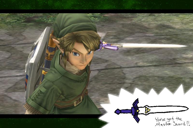Twilight Princess - Got the Master Sword by DrCaptPepperGirl