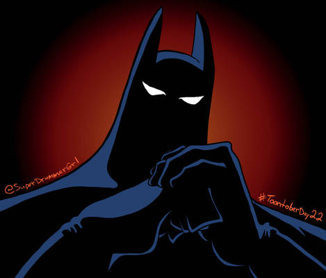 Toontober Day 22 - Batman