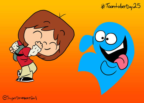 Toontober Day 25 - Mac and Bloo