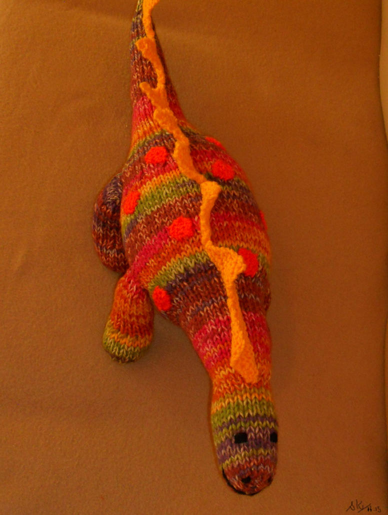 Hands Knitting Drawing : Hand knitted dino rex by supach on deviantart