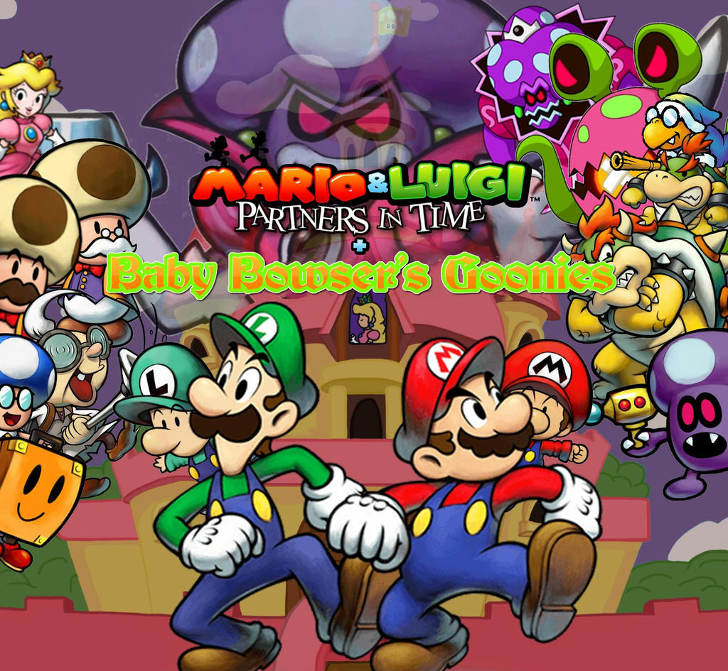 Mario And Luigi Partners In Time Remake Icon By