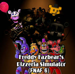 Freddy Fazbear's Pizzeria Simulator Soundtrack Art by EnderLuigiMario