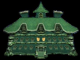 Luigi's Mansion (Transparent) by EnderLuigiMario