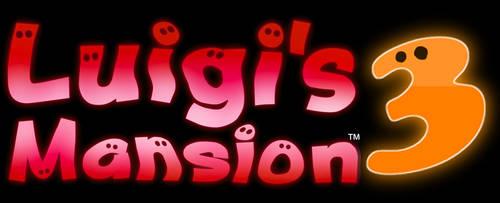 Luigi's Mansion 3 Logo (Fanmade) by EnderLuigiMario