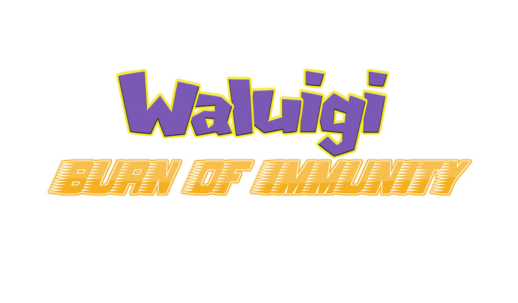 Waluigi Burn of Immunity Logo by EnderLuigiMario
